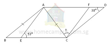 Geometry: Finding Unknown Angles (Advanced Problems) | Home Campus
