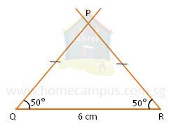 How To Draw An Isosceles Triangle And Right Angled Triangle Using Protractor Home Campus